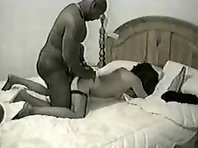 Mature woman enjoys company of a well endowed big black lover