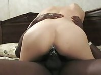 Pale assed wife gets creamed up with BBC