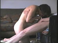 Sexy wife gets satisfied by her kinky lover on camera