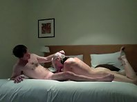 Delicious blonde wife likes to ride on top of the cock