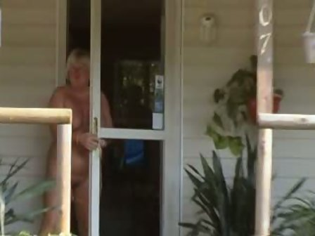Wife walking around house naked video